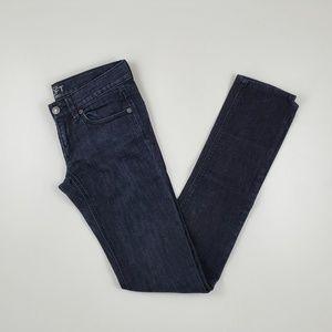 Loft Modern Straight Leg Skinny Jeans 24